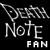 The Death Note fan